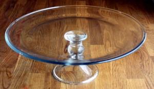Kakkuteline lasia
